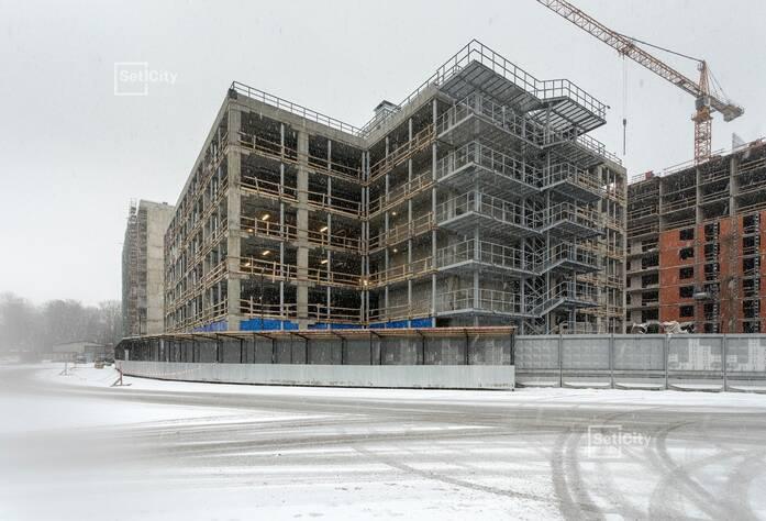 МФК «ArtLine в Приморском»: ход строительства паркинга
