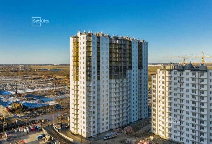 ЖК «Чистое небо»: ход строительства корпусов 8.1-8.5