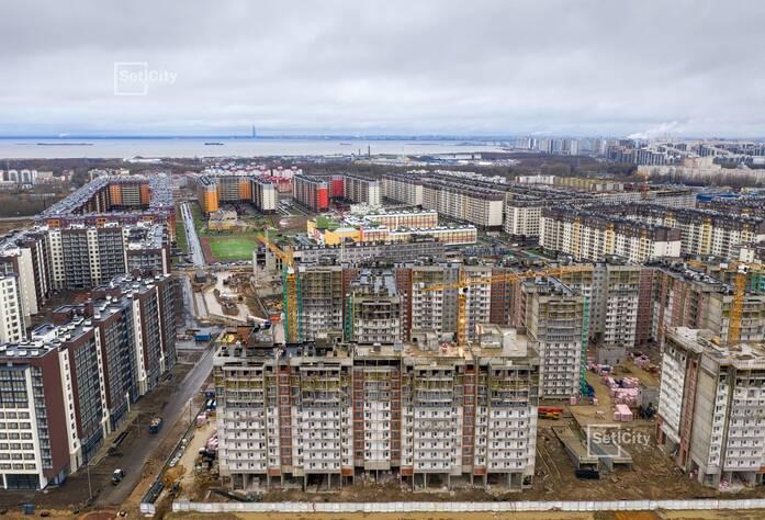 ЖК «Солнечный город»: ход строительства корпусов 10.1-10.3