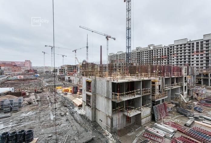 ЖК «Притяжение»: ход строительства корпуса №5