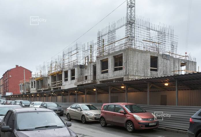 ЖК «Притяжение»: ход строительства корпуса №6