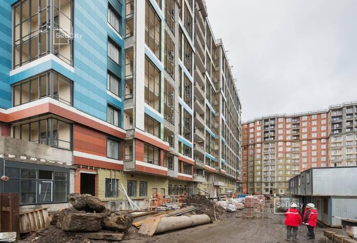 ЖК «Облака на Лесной»: ход строительства дома 1
