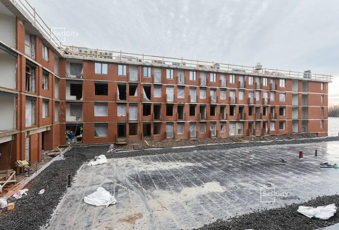 Малоэтажный ЖК «Фортеция. Жизнь на побережье»: ход строительства корпуса №3