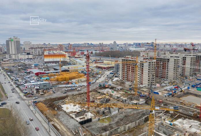 МФК «ArtLine в Приморском»: ход строительства корпуса 3