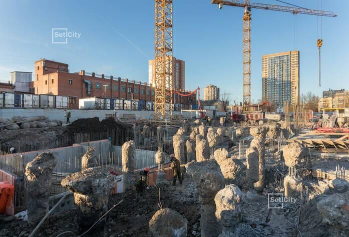 ЖК «Стрижи в Невском»: ход строительства корпуса 1