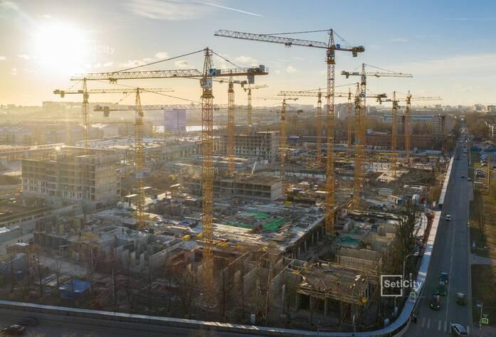 ЖК «Стрижи в Невском»: ход строительства корпуса 2