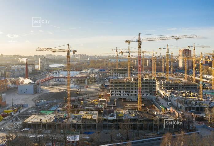 ЖК «Стрижи в Невском»: ход строительства корпуса 4