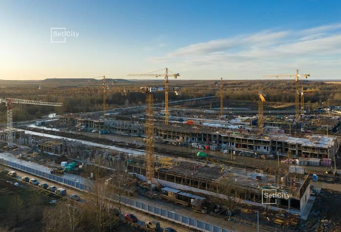 МЖК «Зеленый квартал»: ход строительства корпуса №2.1