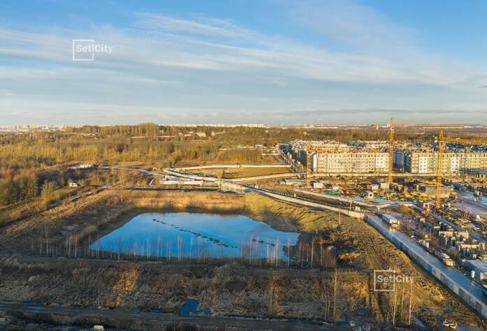 МЖК «Зеленый квартал»: ход строительства корпуса №3.1.3