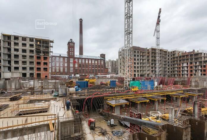 ЖК «Притяжение»: ход строительства корпуса 2