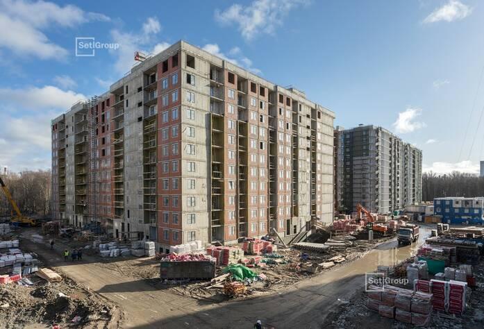 МФК «ArtLine в Приморском»: ход строительства дома 5