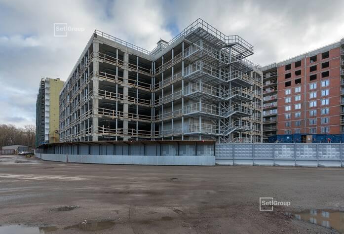 МФК «ArtLine в Приморском»: ход строительства надземного паркинга