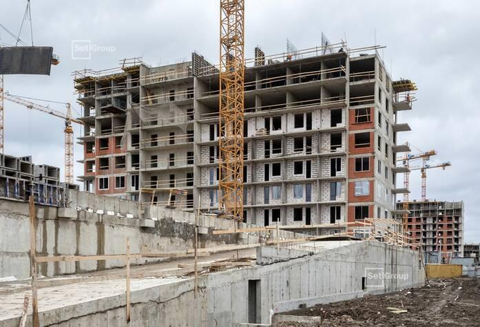 ЖК «Стрижи в Невском»: ход строительства корпуса 3