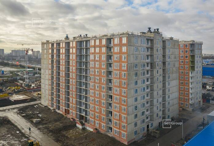ЖК «Статус у парка Победы»: ход строительства корпуса 3