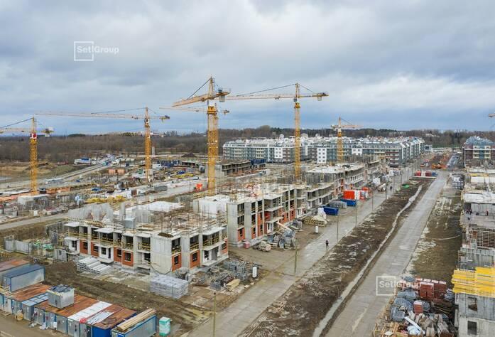 МЖК «Зеленый квартал»: ход строительства корпуса №2.2