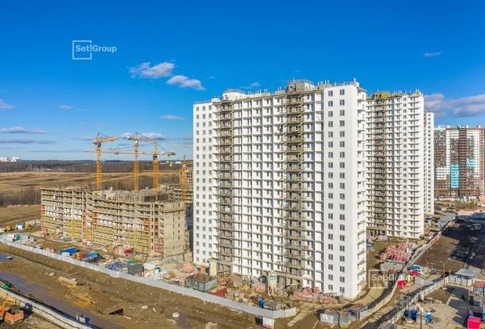 ЖК «Чистое небо»: ход строительства корп. 8.1-8.5