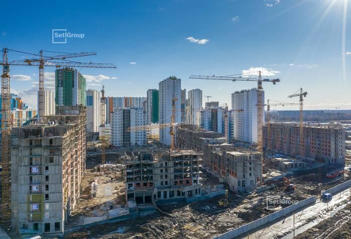 ЖК «Чистое небо»: ход строительства корп. 9
