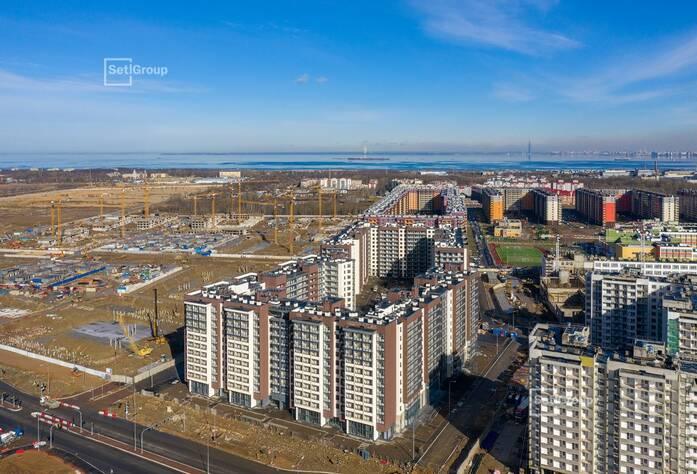 ЖК «Солнечный город»: ход строительства корп. 9.1-9.2