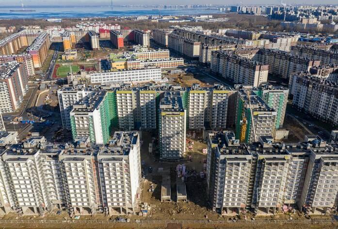 ЖК «Солнечный город»: ход строительства корп. 10.1-10.3