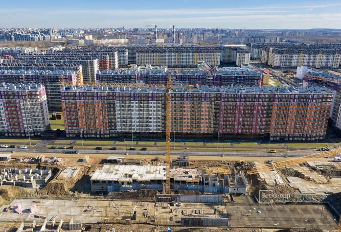 ЖК «Солнечный город»: ход строительства корп. 10.1.1-10.1.3