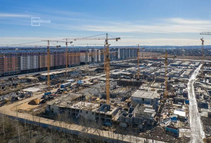 ЖК «Солнечный город»: ход строительства корп. 10.2.1-10.2.2