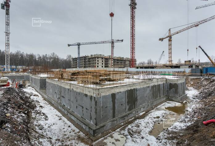 МФК «ArtLine в Приморском»: ход строительства ДОУ