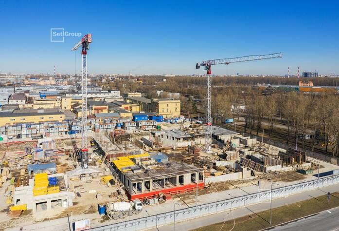 ЖК «Статус у парка Победы»: ход строительства корпуса 1