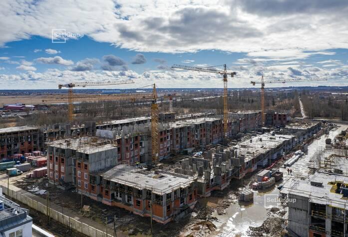 МЖК «Зеленый квартал»: ход строительства корп. 2.2
