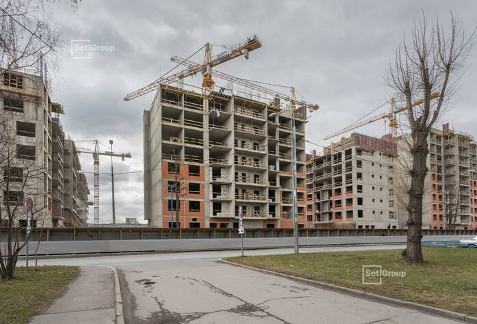 ЖК «Стрижи в Невском»: ход строительства корп. 1