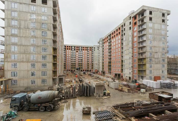 ЖК «Эмеральд на Малой Неве»: ход строительства корпуса № 2