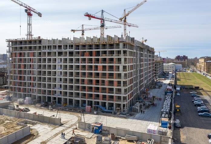 ЖК «Svetlana Park»: ход строительства корпуса №2