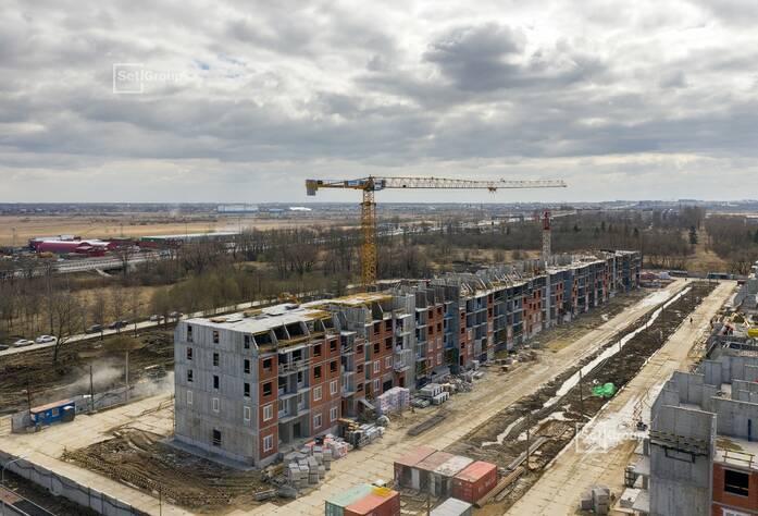 МЖК «Зеленый квартал»: ход строительства корп. 2.1