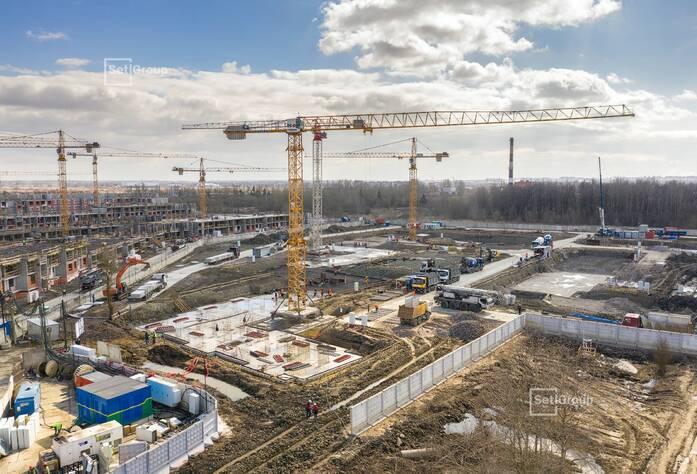 МЖК «Зеленый квартал»: ход строительства корп. 3.1.3