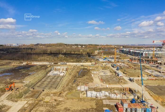 МЖК «Зеленый квартал»: ход строительства корп. 4.2
