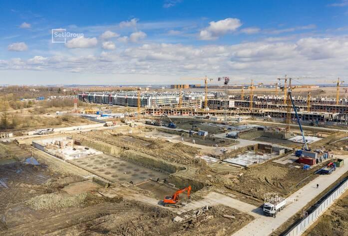 МЖК «Зеленый квартал»: ход строительства корп. 4.3