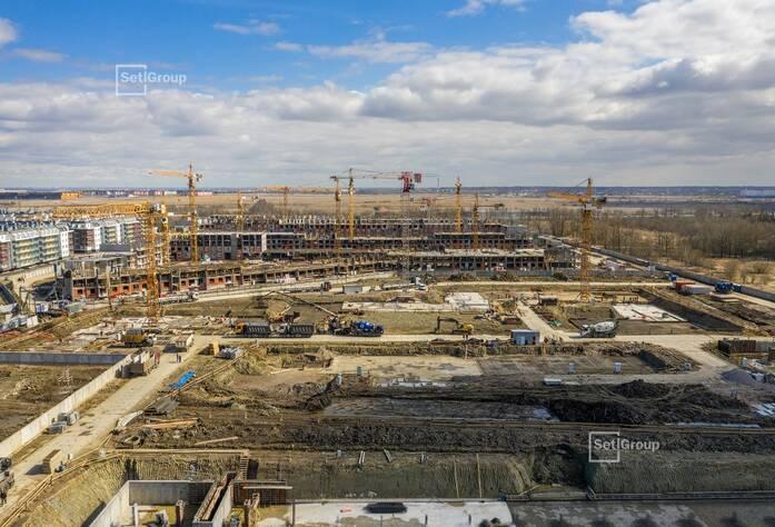 МЖК «Зеленый квартал»: ход строительства корп. 4.4