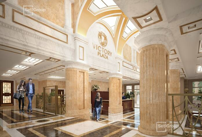 ЖК Victory Plaza: визуализация