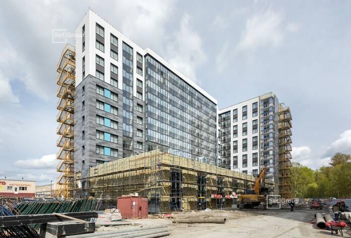 МФК «ArtLine в Приморском»: ход строительства апарт-отеля 2