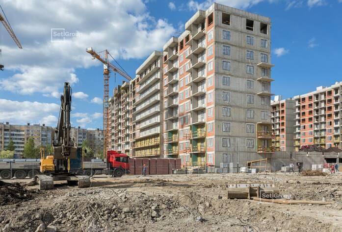 ЖК «Стрижи в Невском»: ход строительства корп. 2