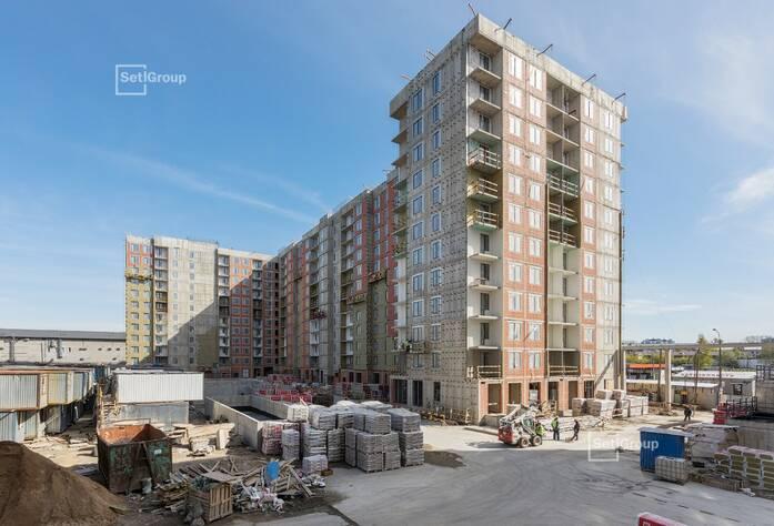 ЖК «Эмеральд на Малой Неве»: ход строительства корпуса №4