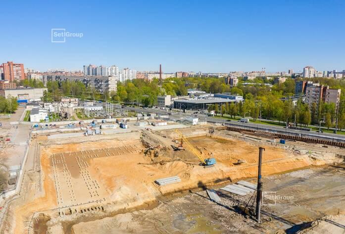 ЖК «Панорама парк Сосновка»:  ход строительства