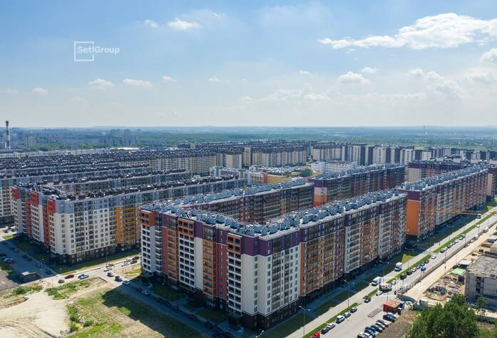 ЖК «Солнечный город»: ход строительства корп. 8