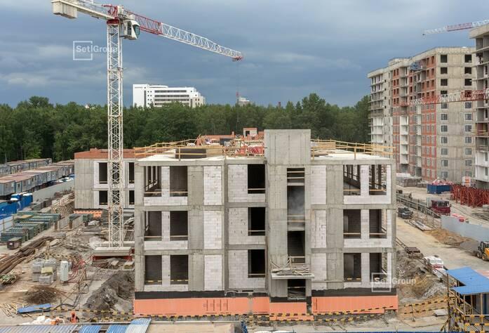 МФК «ArtLine в Приморском»: ход строительства (ДОО)