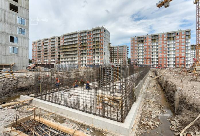 ЖК «Стрижи в Невском»: ход строительства (ДОУ)
