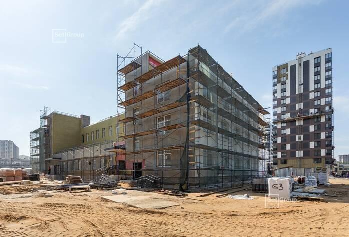 ЖК «Pulse на набережной»: ход строительства (ДОУ)