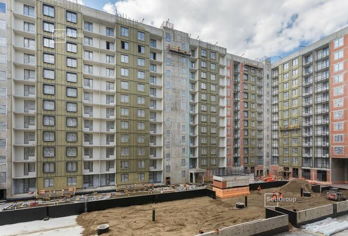 ЖК «Эмеральд на Малой Неве»: ход строительства корпуса №1