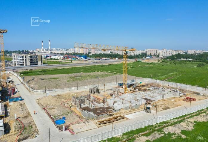 МЖК «Солнечный город Резиденции»: ход строительства корп. №2