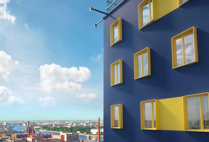 МФК «Vertical We&I»: визуализация