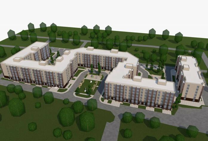 ЖК «Granholm Village»: визуализация