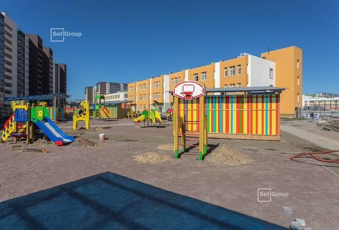 ЖК «Солнечный город»: ход строительства ДОУ 4